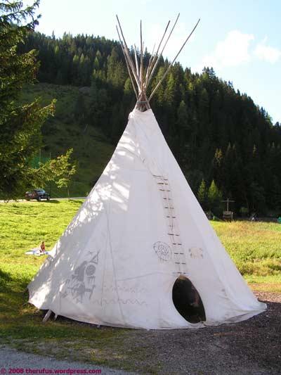 Indianer in Salzburger Landen