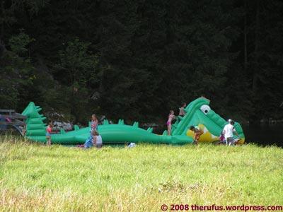 Nessie im Zauchensee aufgetaucht