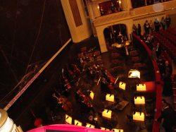 Orchestergraben in der Wiener Staatsoper