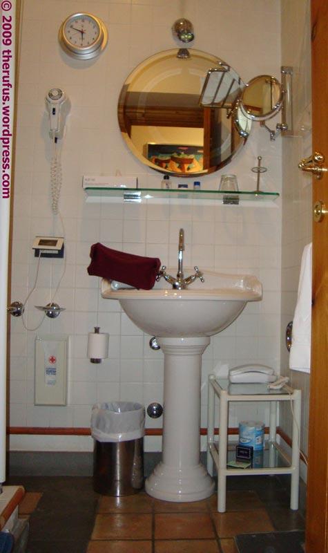 im Bad braucht man einfach ein Telefon