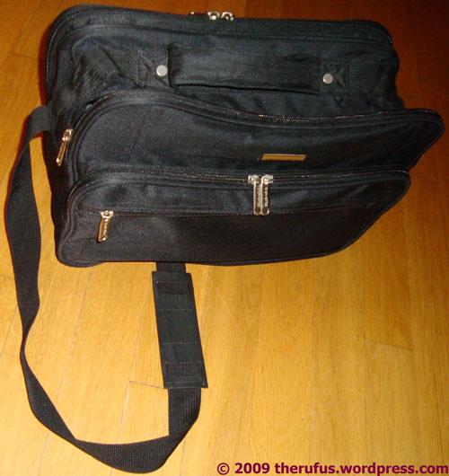 Eine schöne Tasche, obwohl die Farbe ...