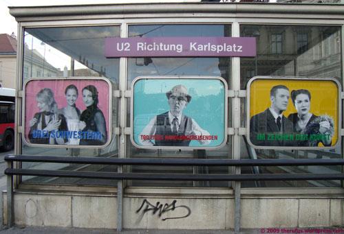 U2 Richtung Karlsplatz