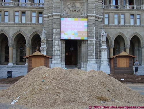 Willkommen im Wiener Rathaus - schöner Mist