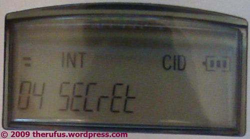 Ein geheimnisvoller Anruf