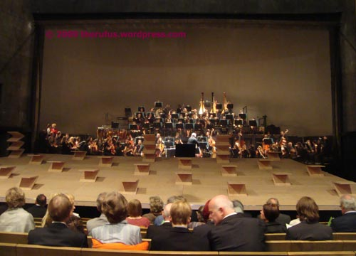 """Bühnenbild """"Die Meistersinger von Nürnberg"""""""