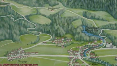 Karte von Erl