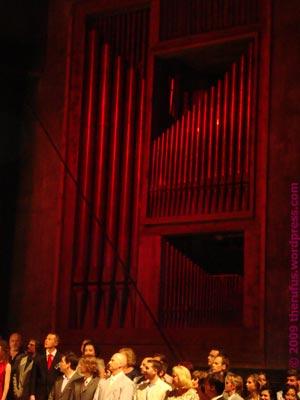 Orgel des Festspielhauses Erl